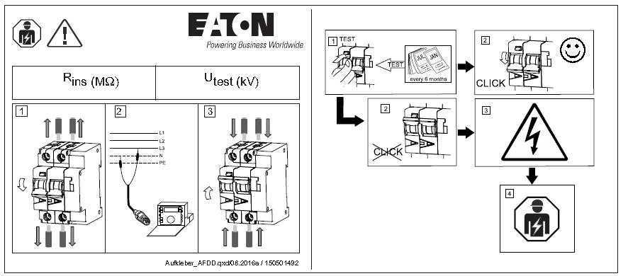 Brandschutzschalter AFDD+ gemäß VDE 0100 Norm | Eaton